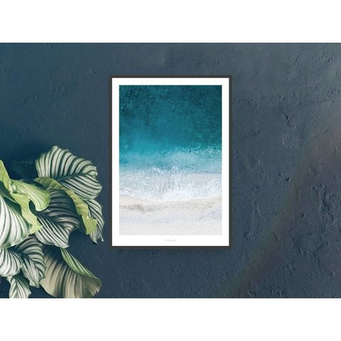 "Poster ""Above The Beach No. 1"" von typealive"