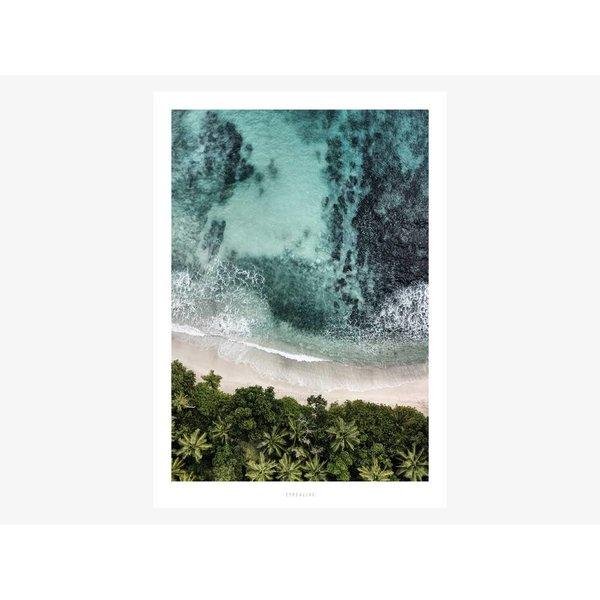 """typealive Poster """"Above The Beach No. 3"""" von typealive"""