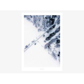 "typealive Poster ""Above The Woods No. 2"" von typealive"