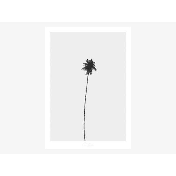 """typealive Poster """"All About Palms No. 4"""" von typealive"""