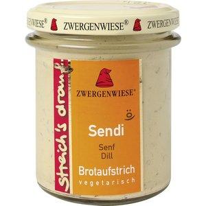 ZWERGENWIESE Brotaufstrich Senf Dill, 160 g
