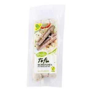 VANTASTIC FOODS Salchichas de tofu, para freír, 125g