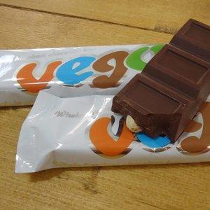 VEGO Vego Schokoladenriegel mit ganzen Haselnüssen, 150 g