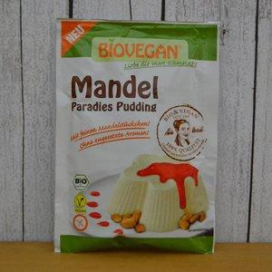 BIOVEGAN Mandel Paradies Pudding, 49 g