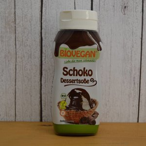 BIOVEGAN Bio Schoko Dessertsoße, 250 g