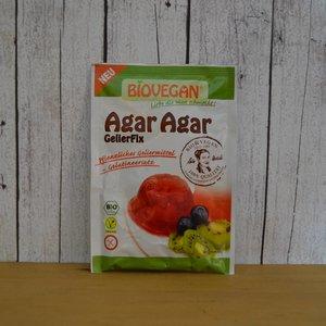 BIOVEGAN Agar Agar ecológico, gelificante vegetal, 30 g