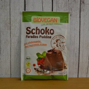 BIOVEGAN Pudín de chocolate, 50 g