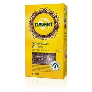 DAVERT Quinoa negra bio, 200 g