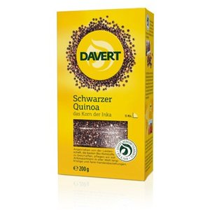 DAVERT Schwarzer Quinoa, 200 g