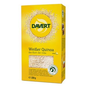 DAVERT Weißer Quinoa Bio, 200 g
