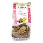 SOMMER Dinkel Ingwer Cookies