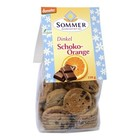 SOMMER Espelta, chocolate y naranja