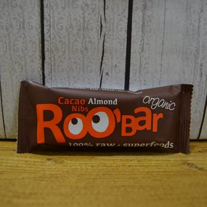 ROOBAR Cacao Nibs & Almond, 50 g