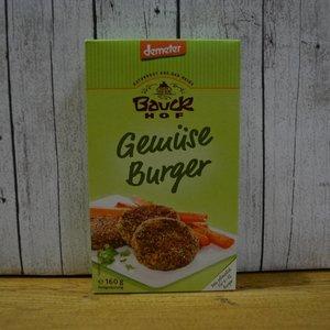 BAUCKHOF Hamburguesas vegetales, 160 g