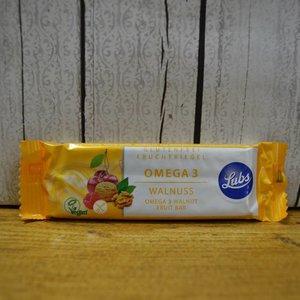 LUBS Barrita de frutas omega 3 con nueces, 40 g
