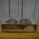 MUUGLU Magdalenas de cacao, sin gluten