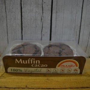 MUUGLU Glutenfreie Muffins mit Kakao, 120 g