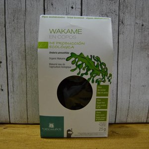 PORTO-MUIÑOS Wakame BIO-Alge in Flocken, dehydriert