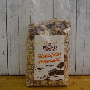 BAUCKHOF Glutenfreies Hafermüsli Schoko, 425 g