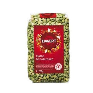 DAVERT Halbe Schälerbsen, 500 g