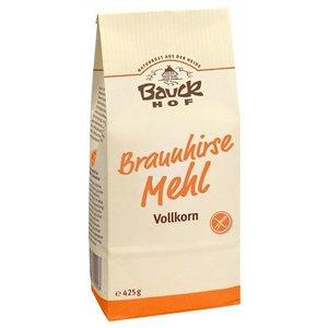 BAUCKHOF Harina integral de mijo marrón, 425 g