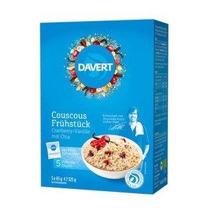 DAVERT Couscous Frühstück Cranberry Vanille, 325 g