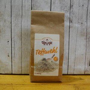 BAUCKHOF Teffmehl, 400 g