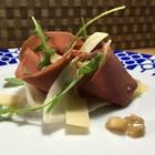 Vegan-Carpaccio Salat