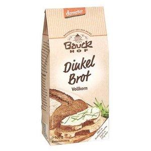 BAUCKHOF Pan de espelta integral, 500 g