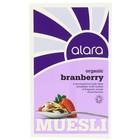 ALARA Organic Muesli Branberry
