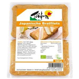 TAIFUN Japanische Bratfilets mit Tofu, 160 g