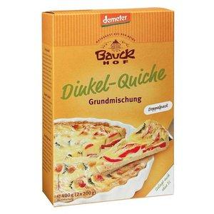 BAUCKHOF Mezcla para quiche de espelta, 400 g