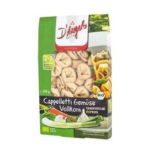 D'ANGELO Cappelletti, pasta integral con verduras, 250 g