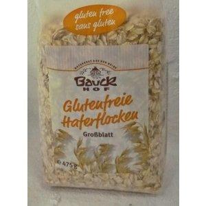BAUCKHOF Glutenfreie Haferflocken Großblatt