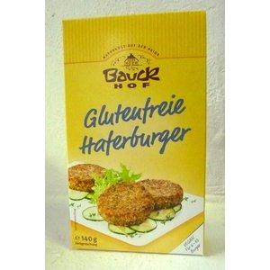 BAUCKHOF Preparado para hacer hamburguesas de avena, sin gluten