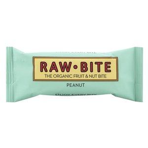 RAW BITE Rohkost Erdnuss Riegel, 50 g