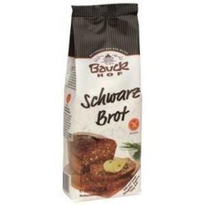 BAUCKHOF Mezcla para elaborar pan negro de arroz, 500 g