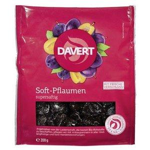 DAVERT Soft-Pflaumen supersaftg, entsteint, 200 g