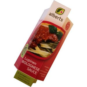 ALBERTS Lupine Sauce Bolognese