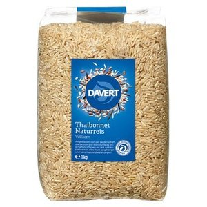 DAVERT Arroz natural Thaibonnet, 1kg