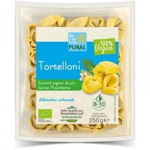 PURAL Tortelloni mit Spinat und Pinienkernen, 250 g