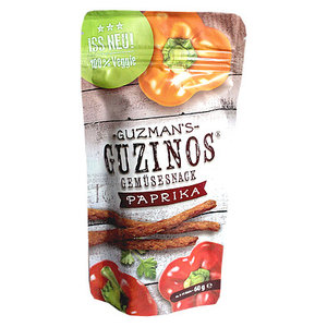GUZINOS Gemüsesnack paprika