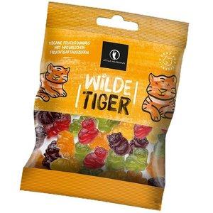 ATTILA HILDMANN Wilde Tiger 200g - deliciosas gominolas de frutas orgánicas en forma de tigre