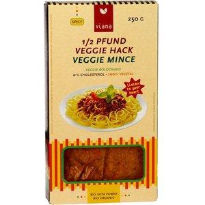 VIANA Boloñesa vegana de soja y especiada, 250 g