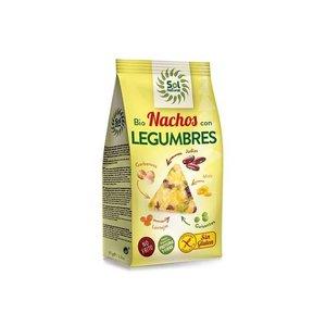 SOL NATURAL Bio nachos con legumbres, 80 g