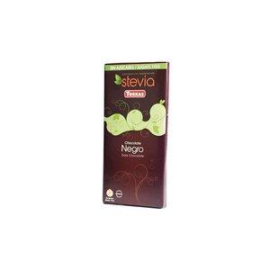 TORRAS Schwarze Schokolade mit Stevia gesüßt, 100 g