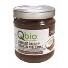 QBIO Crema de cacao y coco con avellanas