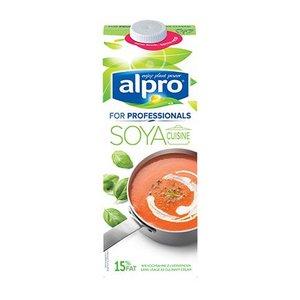 ALPRO Vegane Kochcréme auf Sojabasis, 1L