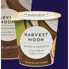 HARVEST MOON Yogur de coco sabor mango y maracuyá, 125 g