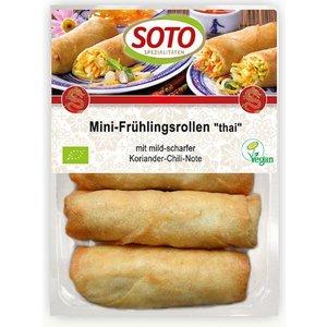 SOTO Mini rollitos ecológicos estilo thai, 200 g